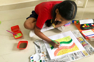 best school kompally Hyderabad Drawing & Colouring Competitions  day 2