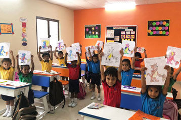 best school kompally Hyderabad Drawing & Colouring Competitions day 3