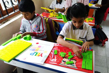 best school kompally Hyderabad learning fractions 4
