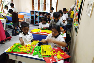 best school kompally Hyderabad learning fractions 6