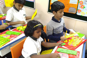 best school kompally Hyderabad learning fractions 7