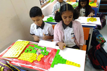 best school kompally Hyderabad learning fractions 9