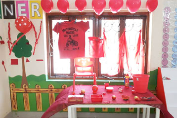 best school kompally Hyderabad Red Colour day 3