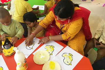 best school kompally Hyderabad yellow Colour day 11