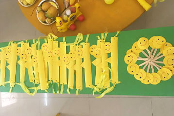 best school kompally Hyderabad yellow Colour  day 2