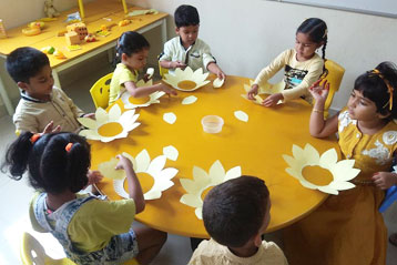 best school kompally Hyderabad yellow Colour day 3