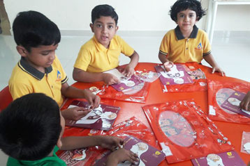 best school kompally Hyderabad EVS activity on Internal Organs 8