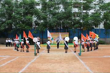 Best school hyderabad First Investiture Ceremony 11