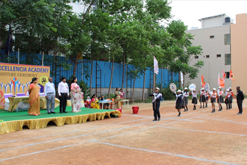 Best school hyderabad First Investiture Ceremony 13