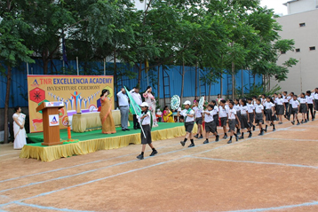 Best school hyderabad First Investiture Ceremony 14