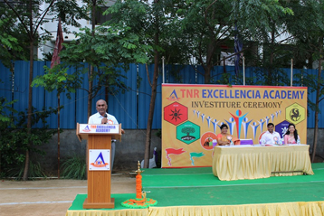 Best school hyderabad First Investiture Ceremony 15