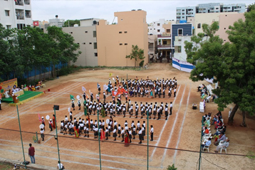 Best school hyderabad First Investiture Ceremony 16