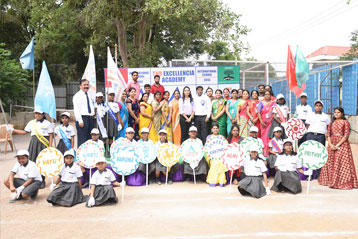 Best school hyderabad First Investiture Ceremony 20