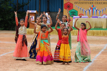Best school hyderabad First Investiture Ceremony 5