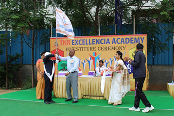 Best school hyderabad First Investiture Ceremony 7
