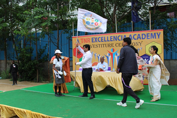 Best school hyderabad First Investiture Ceremony 8
