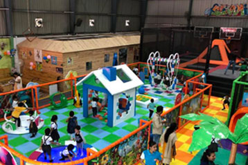 best school kompally Sim and Sam's Party and Playtown trip