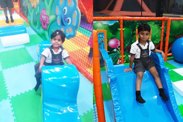 best school kompally Hyderabad Sim and Sam's Party and Playtown trip 12