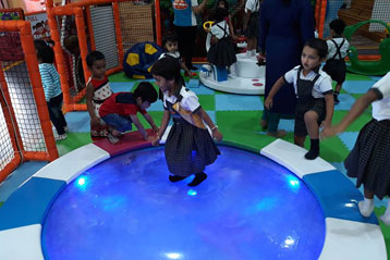best school kompally Hyderabad Sim and Sam's Party and Playtown trip 2