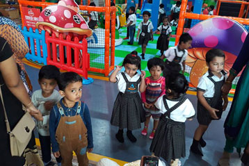 best school kompally Hyderabad Sim and Sam's Party and Playtown trip 4