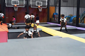 best school kompally Hyderabad Sim and Sam's Party and Playtown trip 5
