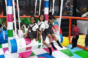 best school kompally Hyderabad Sim and Sam's Party and Playtown trip 9