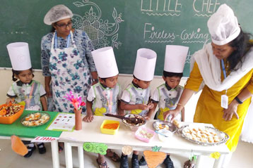 Learning cooking in school 4