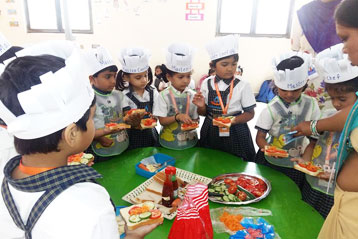 Learning cooking in school 6