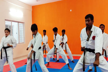 karate training 1
