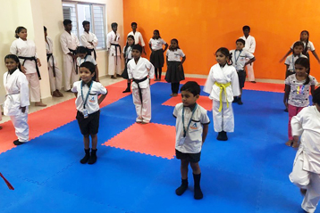karate training 10