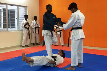 karate training 2