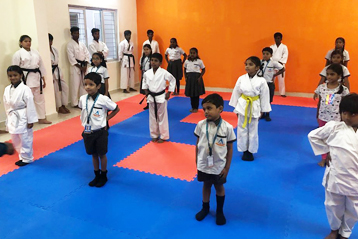 karate training 5