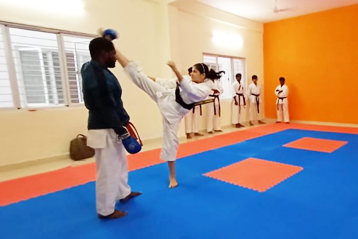 karate training 7