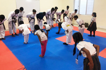karate training 9